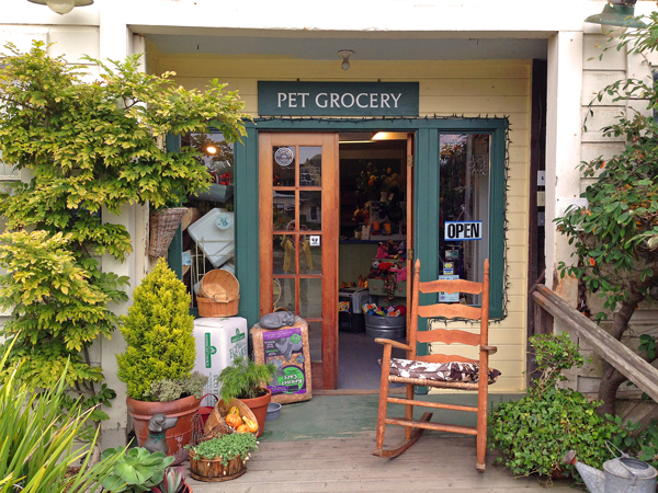 Evergreen Barn Store Entrance